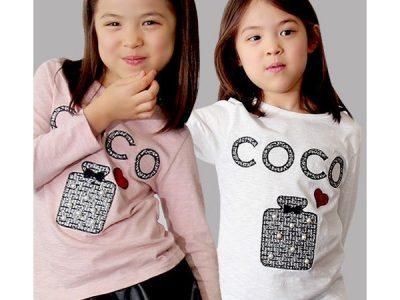 PINKCAT キッズ 女の子 ココtシャツ